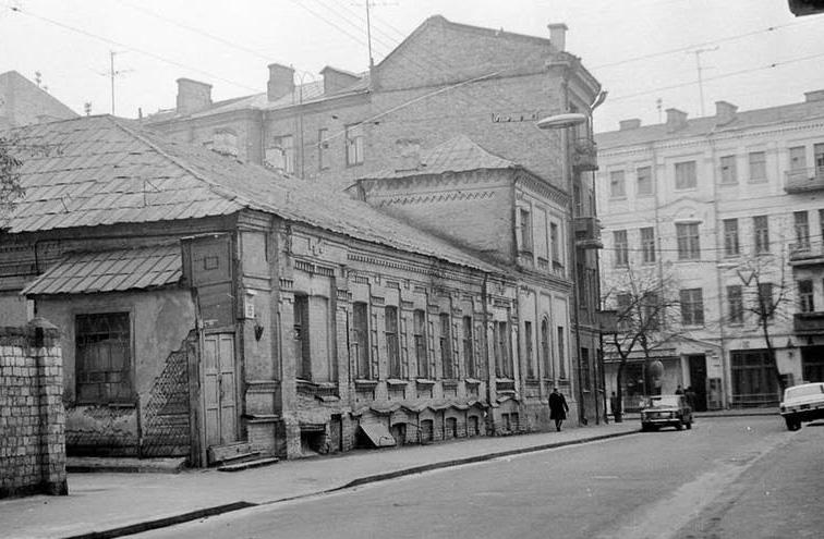 1662 улица-обсерваторная фото старого киева 1985 год