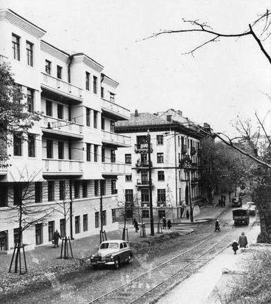 1663 улица-обсерваторная фото старого киева 1955 год